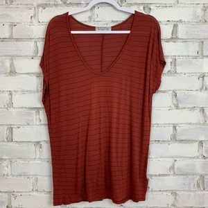 UO Project Social T   Striped Tee   Size L